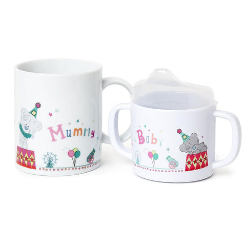 Tiny Tatty Teddy Mummy & Baby Me to You Bear Mug Set