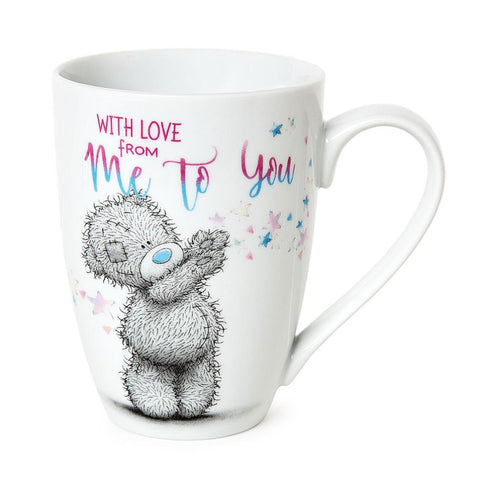 """With Love From Me To You"" Bear Mug"