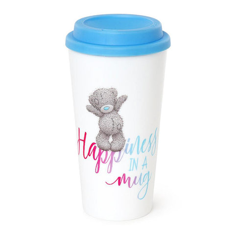 ''Happiness In A Mug'' Me To You Bear Travel Cup
