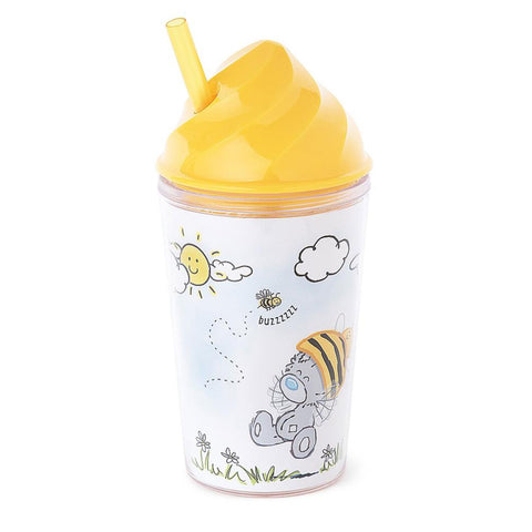 My Dinky Bee Hat Me To You Bear Tumbler With Straw