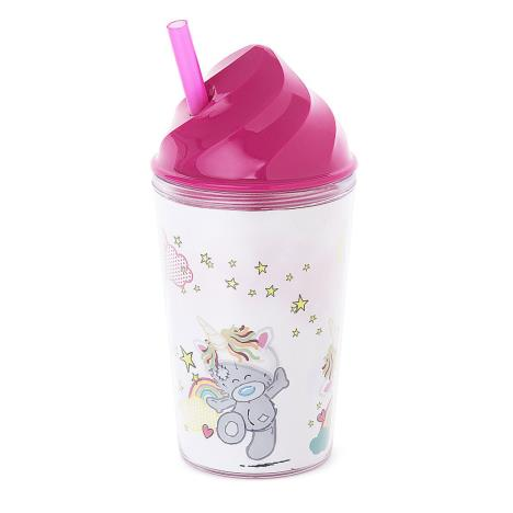 My Dinky Unicorn Hat Me To You Bear Tumbler With Straw