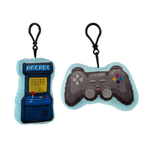 Game Over Plush Sound Key Ring