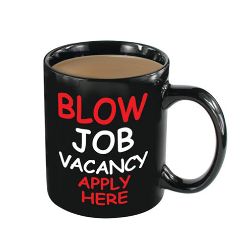 Blow Job Vacancy Heat Change Mug