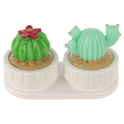 Cactus Contact Lens Case