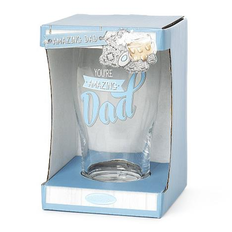 ''Amazing Dad'' Me to You Bear Beer Glass
