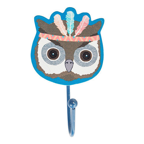 Owl Animal Adventure Single Hook