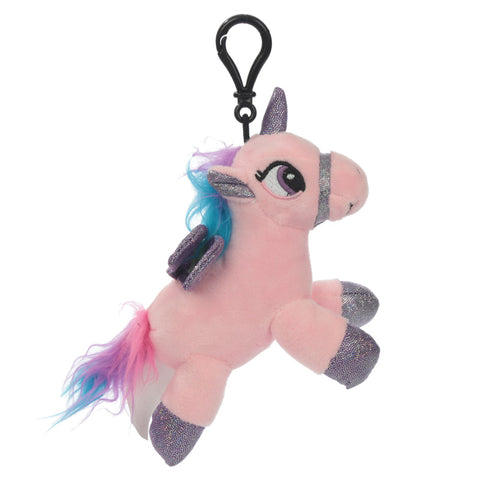 Unicorn Sound Plush Key Chain
