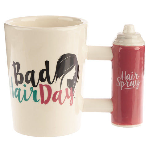Bad Hair Day Shaped Mug