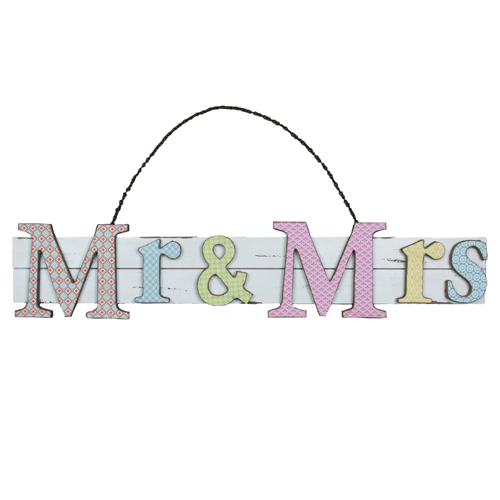 Mr & Mrs Moroccan Style Sign