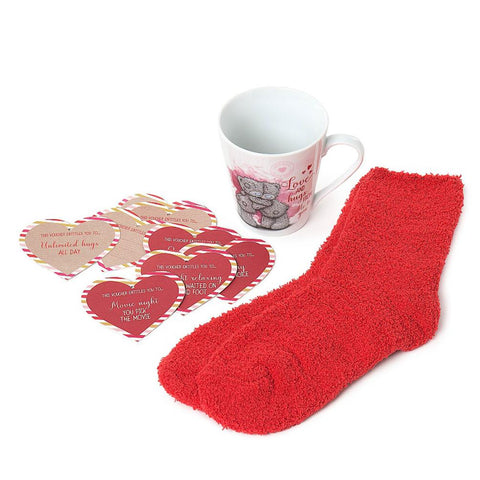 Mug, Socks & Love Tokens Gift Set