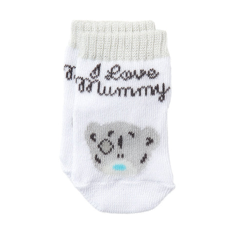 ''I Love Mummy'' Me to You Bear Boxed Baby Socks