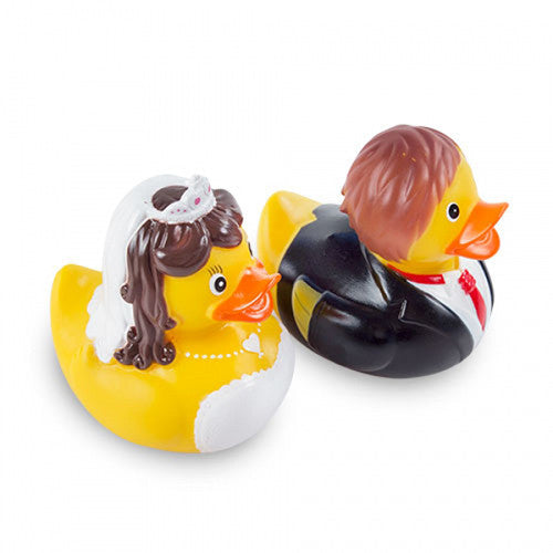 Bride and Groom Rubber Ducks