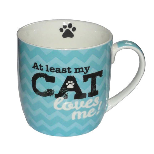 My Cat Loves Me Mug