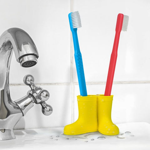 Rain Boot Toothbrush Holder