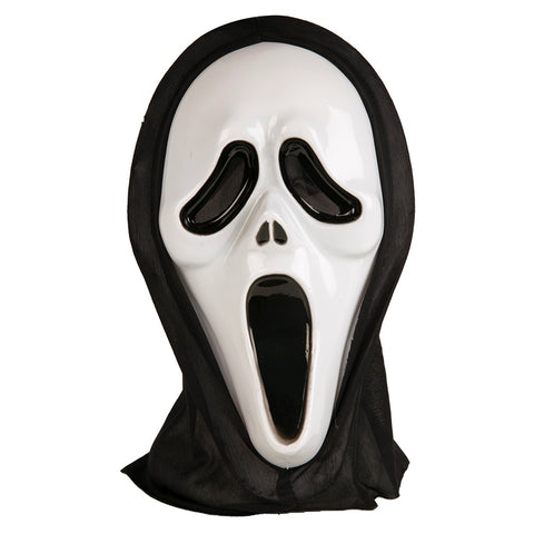 Hooded Scream Mask