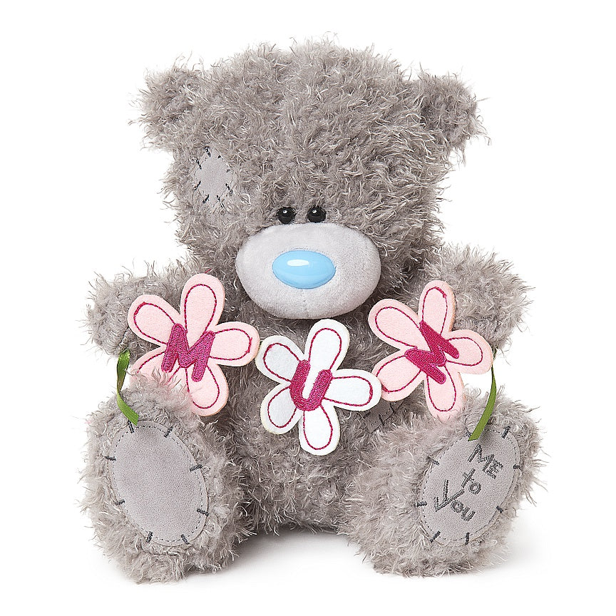 Mum Flower Banner Me To You Bear