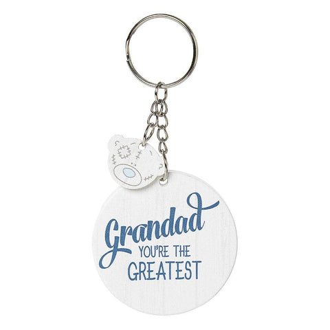 ''Grandad You're The Greatest'' Me to You Key Ring