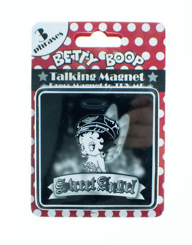 Betty Boop Talking Magnet 'Street Angel'