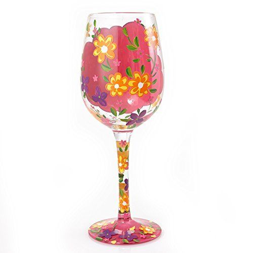 'Best Daughter Ever' Wine Glass