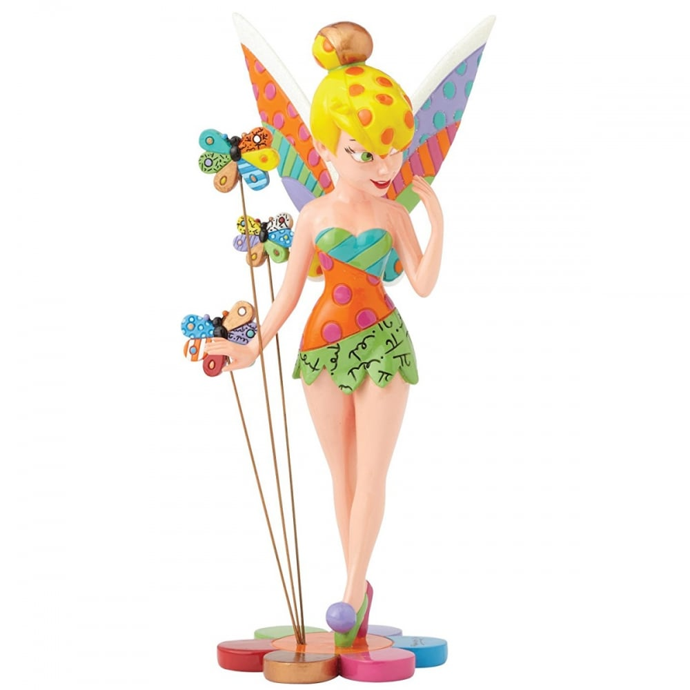 Tinker Bell on Flower