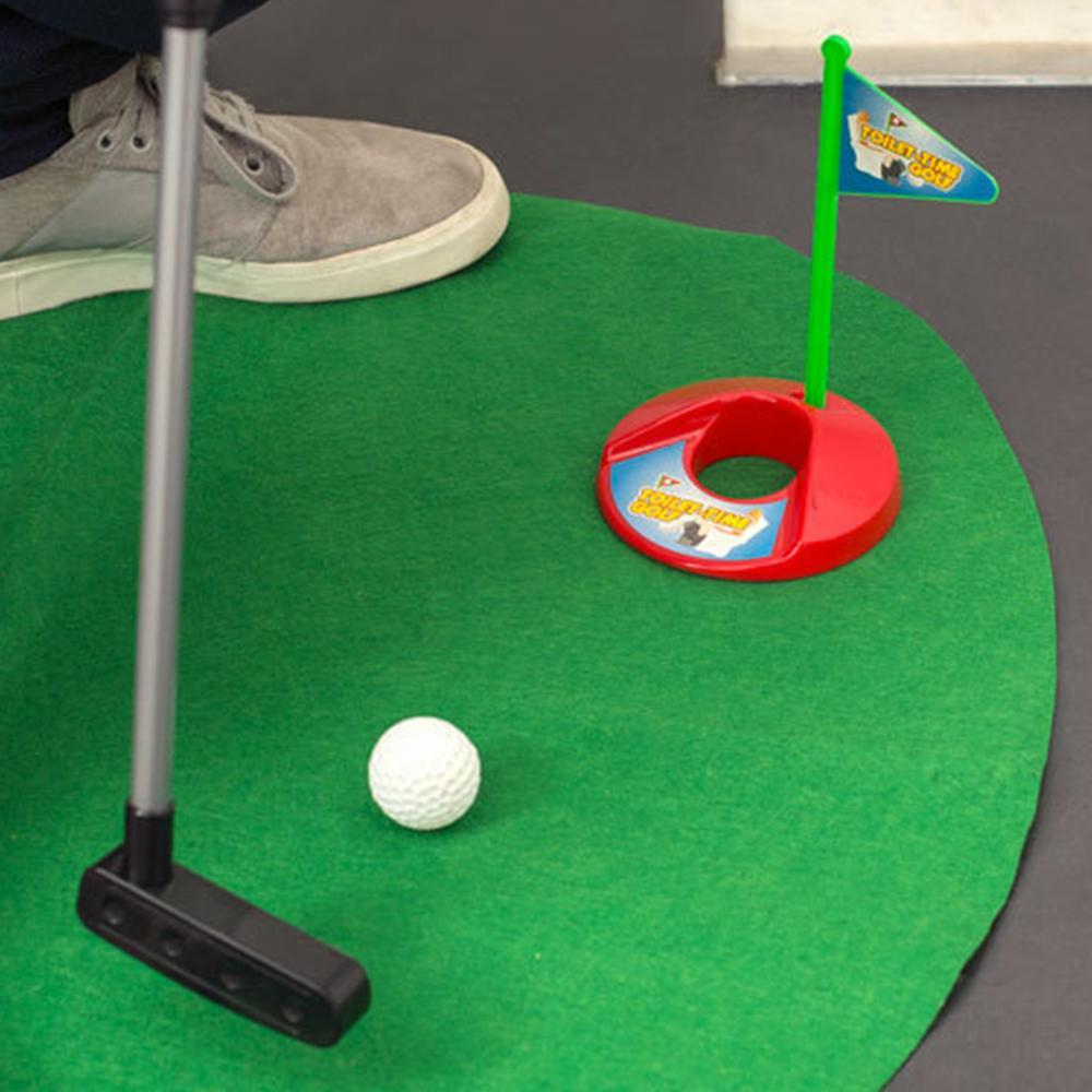Toilet Golf Game Set