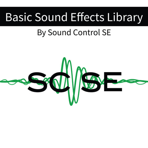 Sound Control SE Basic Sound Effects Library