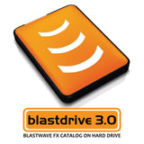 The Blastdrive 3.0 HD Sound Effects Library