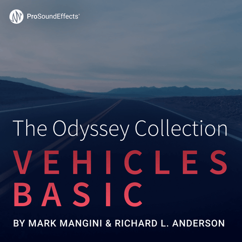 The Odyssey Collection: Vehicles - Basic