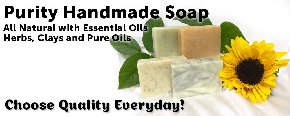 Purity - All Natural Handmade Soaps