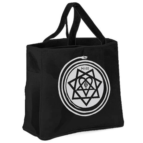 SYMBOL HEARTAGRAM TOTE BAG