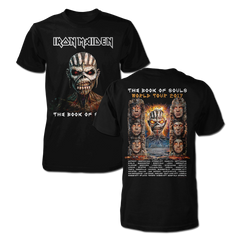 The Book of Souls Cover 2017 Tour Tee