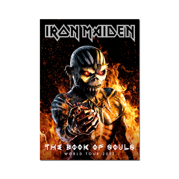 The Book of Souls 2017 Tour Program