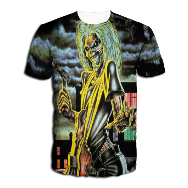 KILLERS ALL OVER DYE SUBLIMATED TEE