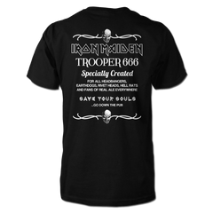 TROOPER 666 BEER MEN TEE