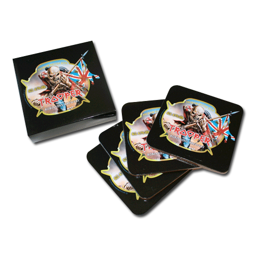 Trooper Beer Coaster Set