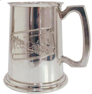 BRITISH STEEL TANKARD
