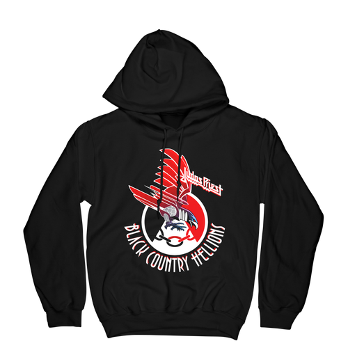 Screaming For Vengeance Black Country Hellions Hoodie