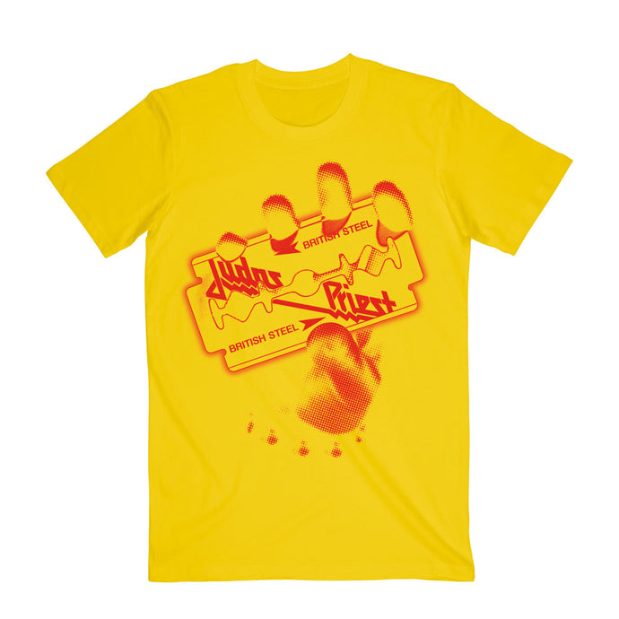 British Steel Yellow Tee