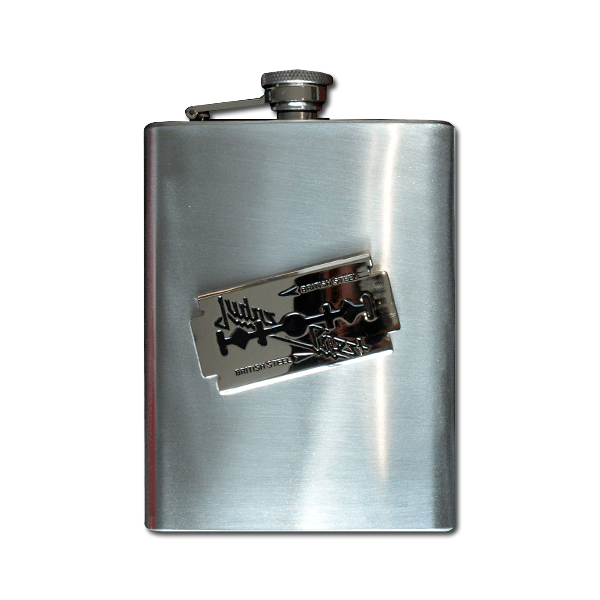 British Steel Flask