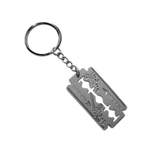 British Steel Keychain