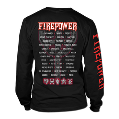 Firepower Graphic Emblem Tour Long Sleeve Tee