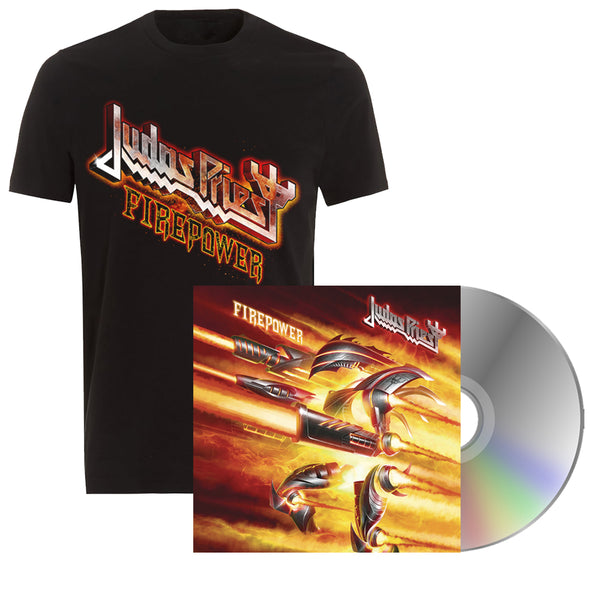 Firepower Tee & CD Bundle