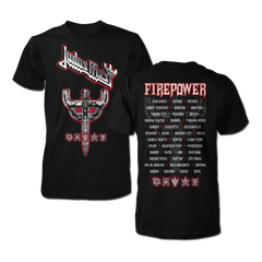 Firepower Graphic Emblem Tour Tee