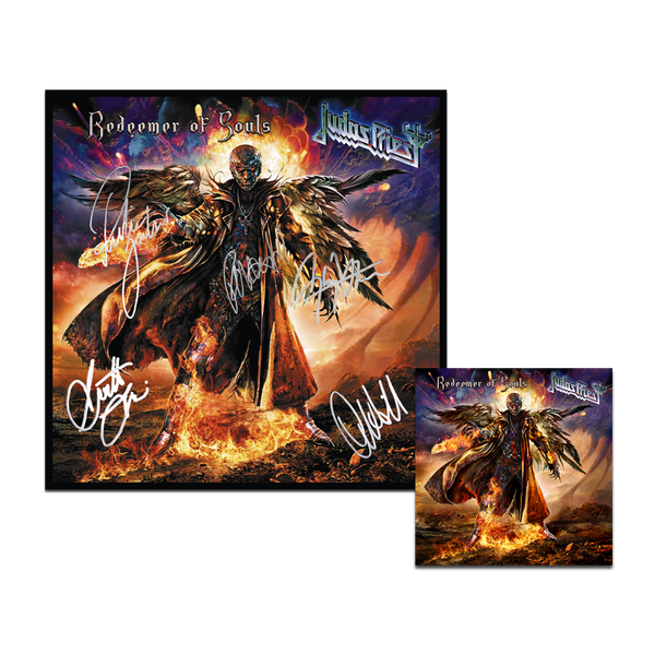 Redeemer of Souls CD + Signed Poster Bundle