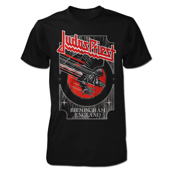 Silver and Red Vengeance Tee