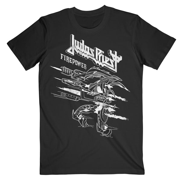 Wireframe Firepower Tee Black