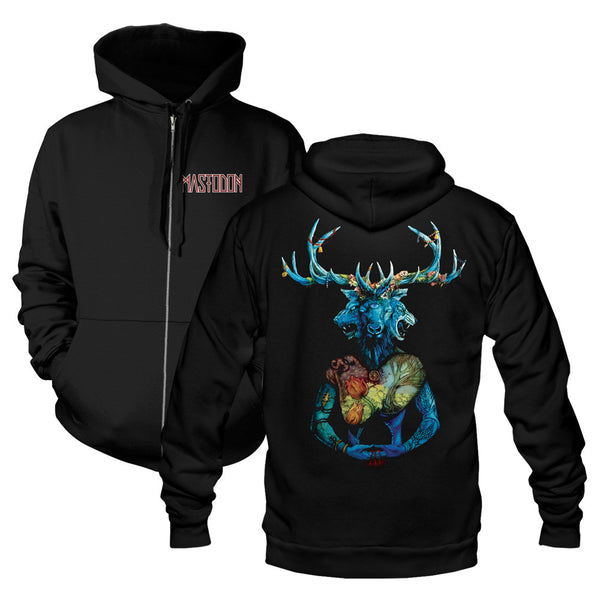 Blood Mountain Beast Zip Hoodie
