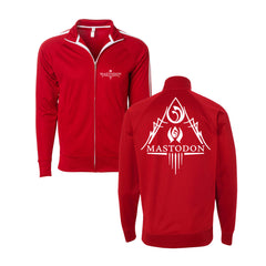 Blood Mountain Logo Red Track Jacket