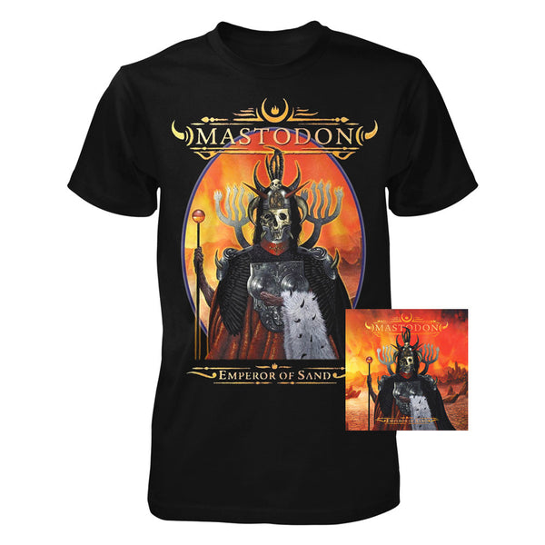 Emperor Of Sand CD & Tee Bundle