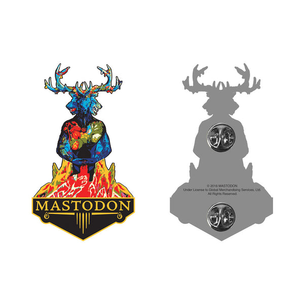 Blood Mountain Collectible Pin